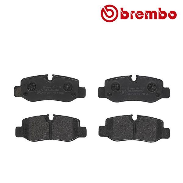 Remblokkenset achterzijde Brembo premium MERCEDES-BENZ VITO Mixto (Double Cabin) (W447) 116 CDI 4-matic