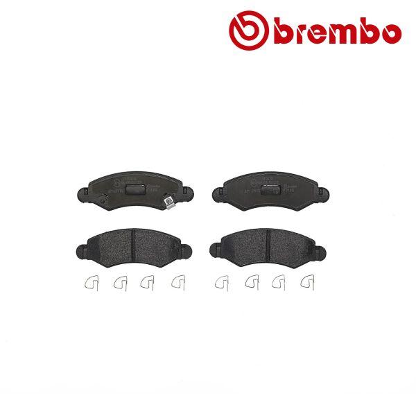 Remblokkenset voorzijde Brembo premium OPEL AGILA 1.2 16V