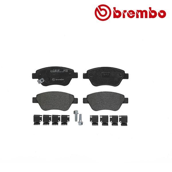 Remblokkenset voorzijde Brembo premium OPEL CORSA D 1.2