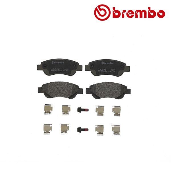 Remblokkenset voorzijde Brembo premium PEUGEOT 107 1.0
