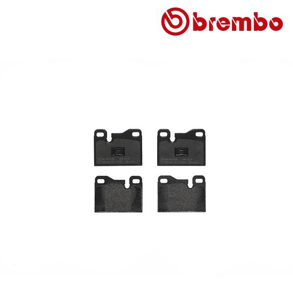 Remblokkenset achterzijde Brembo premium PORSCHE 944 2.5 S