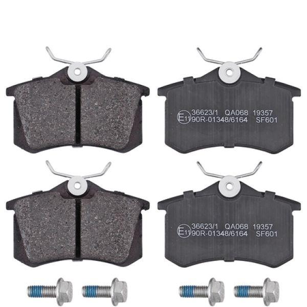 Remblokkenset achterzijde originele kwaliteit SEAT LEON 1.6