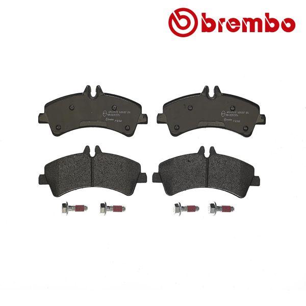 Remblokkenset achterzijde Brembo premium VW VOLKSWAGEN CRAFTER 30-50 Bestelwagen (2E_) 2.0 TDI