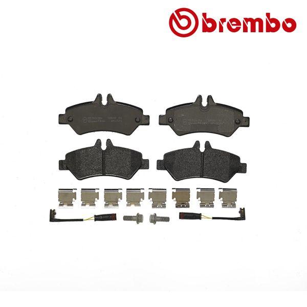 Remblokkenset achterzijde Brembo premium VW VOLKSWAGEN CRAFTER 30-50 Bestelwagen (2E_) 2.5 TDI