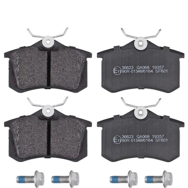 Remblokkenset achterzijde originele kwaliteit VW VOLKSWAGEN GOLF IV (1J1) 1.4 16V