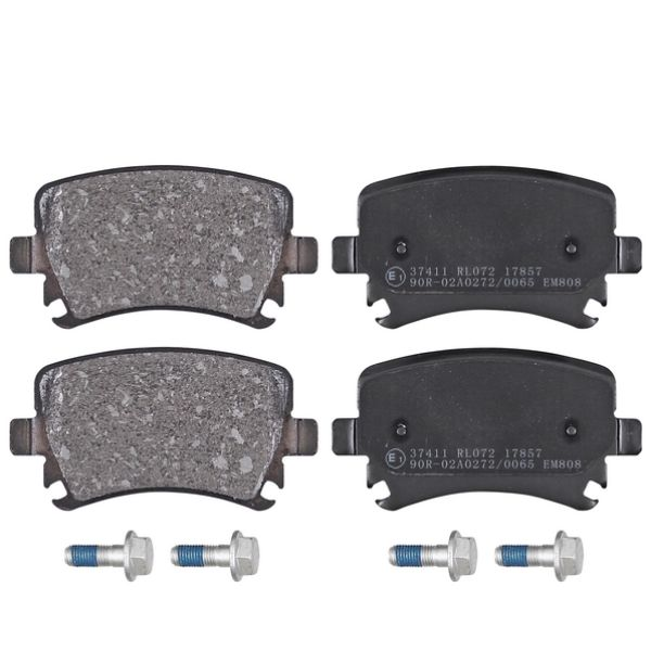 Remblokkenset achterzijde originele kwaliteit VW VOLKSWAGEN GOLF V (1K1) 1.6 FSI
