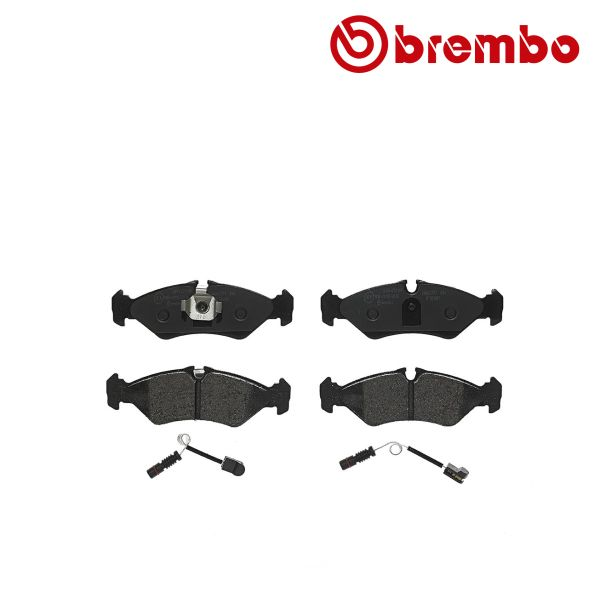 Remblokkenset achterzijde Brembo premium VW VOLKSWAGEN LT 28-35 II Bus (2DB, 2DE, 2DK) 2.5 TDI