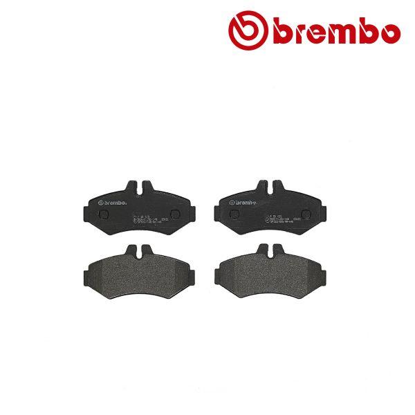 Remblokkenset achterzijde Brembo premium VW VOLKSWAGEN LT 28-46 II Bestelwagen (2DA, 2DD, 2DH) 2.5 SDI