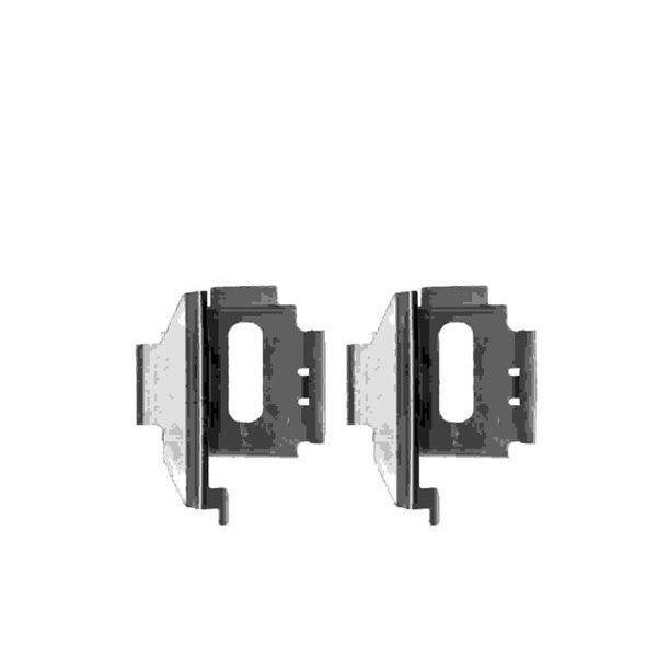 Remblok-montageset achterzijde VW VOLKSWAGEN LT 28-46 II Open laadbak/ Chassis (2DC, 2DF, 2DG, 2DL, 2DM) 2.3