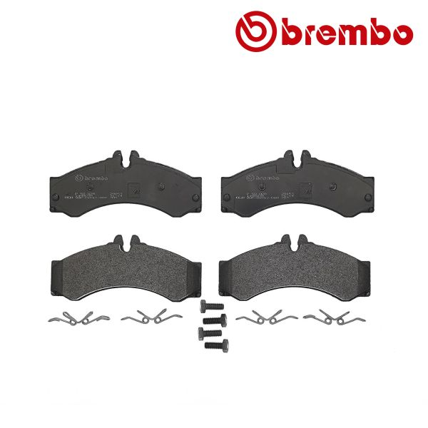 Remblokkenset achterzijde Brembo premium VW VOLKSWAGEN LT 28-46 II Open laadbak/ Chassis (2DC, 2DF, 2DG, 2DL, 2DM) 2.8 TDI