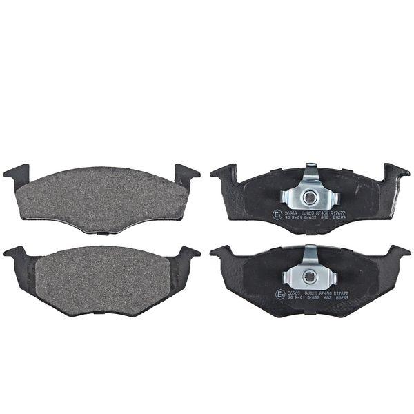 Remblokkenset voorzijde originele kwaliteit VW VOLKSWAGEN POLO (6N2) 1.4