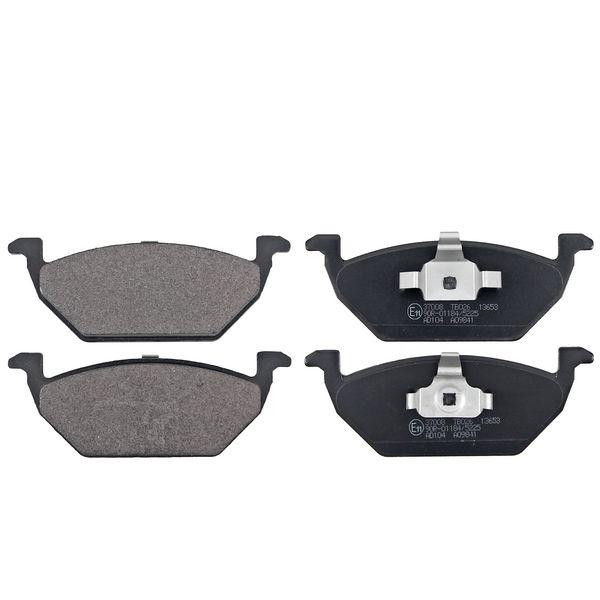 Remblokkenset voorzijde originele kwaliteit VW VOLKSWAGEN POLO (6R1, 6C1) 1.2 TDI