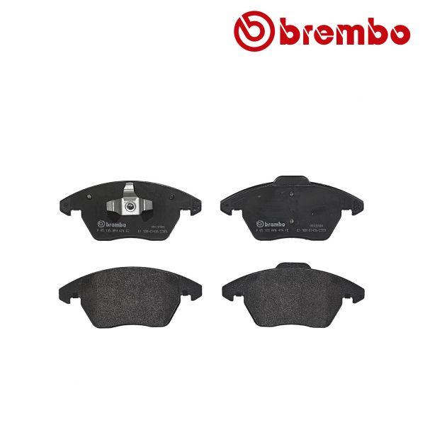 Remblokkenset voorzijde Brembo premium VW VOLKSWAGEN POLO (6R1, 6C1) 1.2 TDI