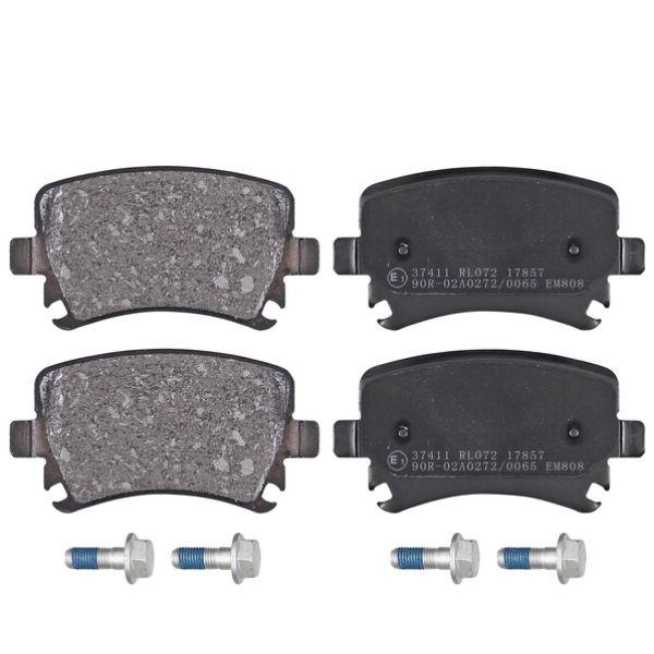 Remblokkenset achterzijde originele kwaliteit VW VOLKSWAGEN TOURAN (1T1, 1T2) 1.6 FSI