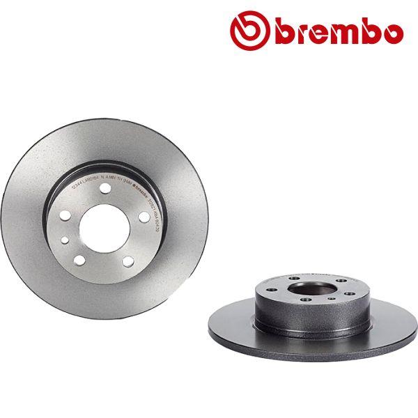 Remschijven achterzijde Brembo premium ALFA ROMEO 147 1.6 16V T.SPARK ECO