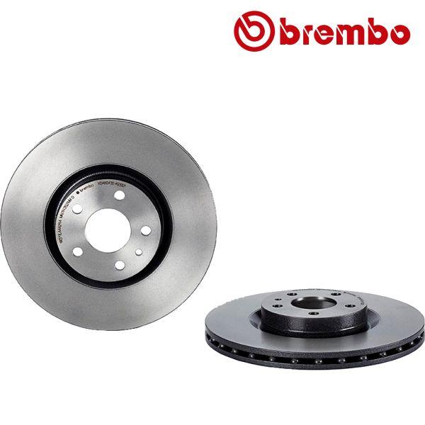 Remschijven voorzijde Brembo premium ALFA ROMEO 147 1.6 16V T.SPARK ECO