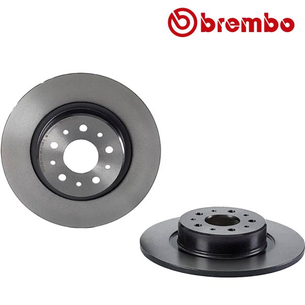 Remschijven achterzijde Brembo premium ALFA ROMEO 156 1.8 16V T.SPARK