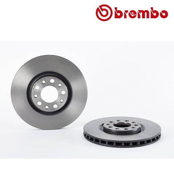 Remschijven voorzijde Brembo premium ALFA ROMEO 159 Sportwagon 2.2 JTS