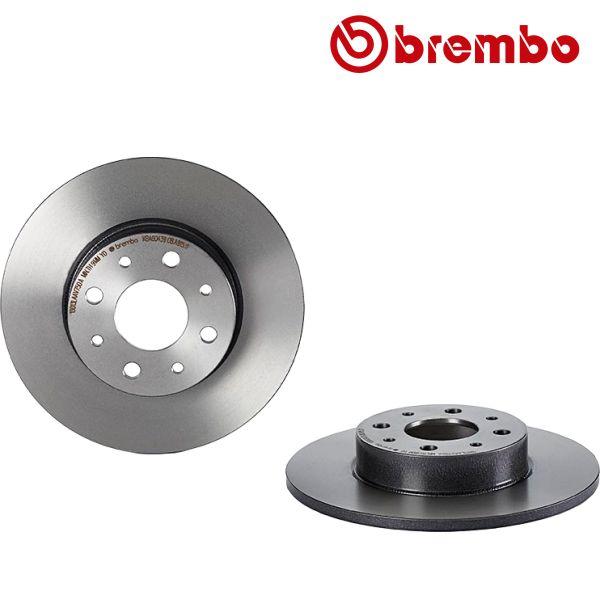 Remschijven achterzijde Brembo premium ALFA ROMEO MITO 1.3 MultiJet