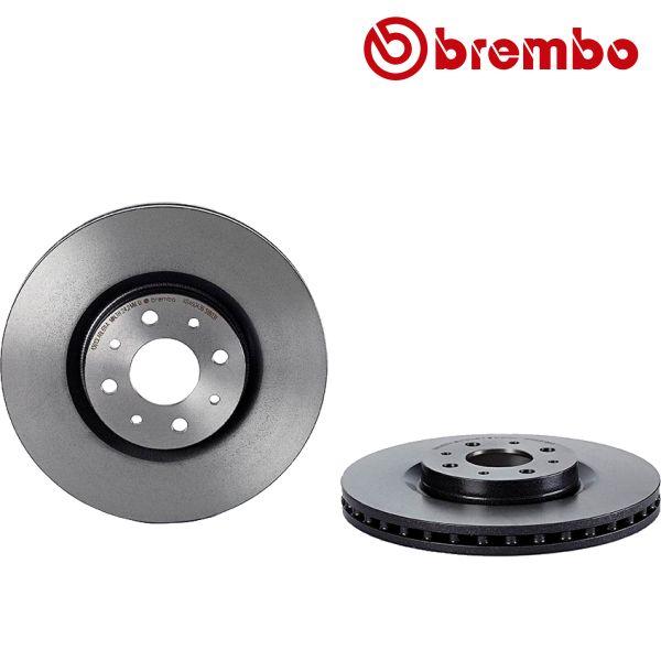 Remschijven voorzijde Brembo premium ALFA ROMEO MITO 1.3 MultiJet