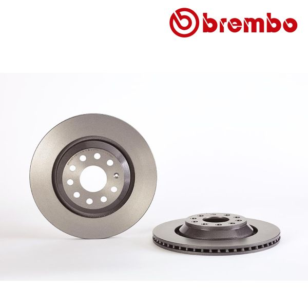 Remschijf achterzijde Brembo premium AUDI A3 Limousine (8VS, 8VM)