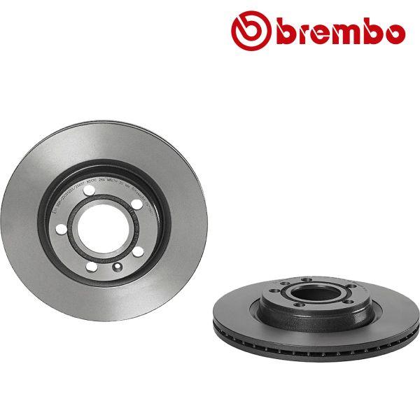 Remschijven voorzijde Brembo premium AUDI A4 1.8