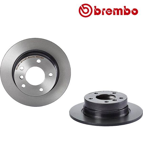 Remschijven achterzijde Brembo premium BMW 1 (E87) 118 d