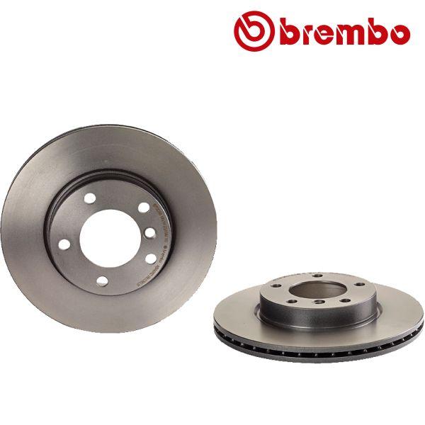 Remschijven voorzijde Brembo premium BMW 3 (E46) 320 i