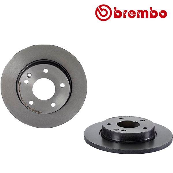 Remschijven voorzijde Brembo premium MERCEDES-BENZ A-KLASSE (W168) A 140