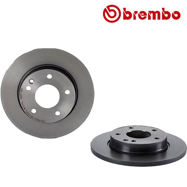 Remschijven voorzijde Brembo premium MERCEDES-BENZ A-KLASSE (W168) A 160 CDI