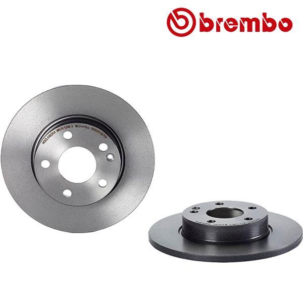 Remschijven voorzijde Brembo premium MERCEDES-BENZ A-KLASSE (W169) A 160 CDI