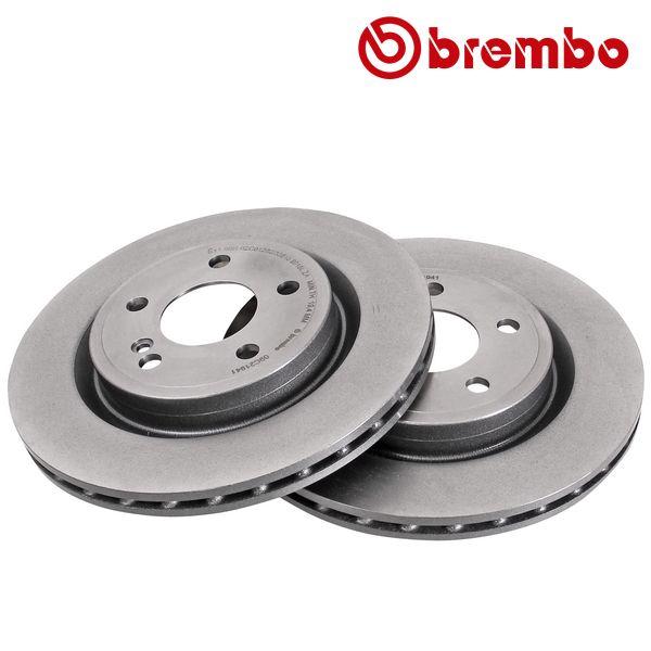 Remschijven achterzijde Brembo premium MERCEDES-BENZ A-KLASSE (W176) A 250 4-matic