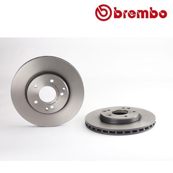 Remschijven voorzijde Brembo premium MERCEDES-BENZ C-KLASSE T-Model (S203) C 180 Kompressor