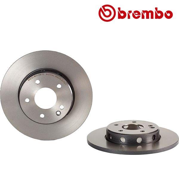 Remschijven voorzijde Brembo premium MERCEDES-BENZ C-KLASSE (W202) C 180