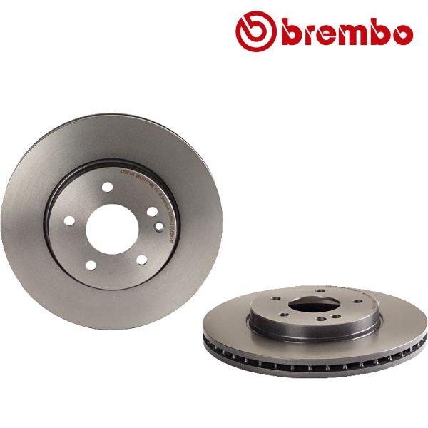 Remschijven voorzijde Brembo premium MERCEDES-BENZ C-KLASSE (W202) C 280