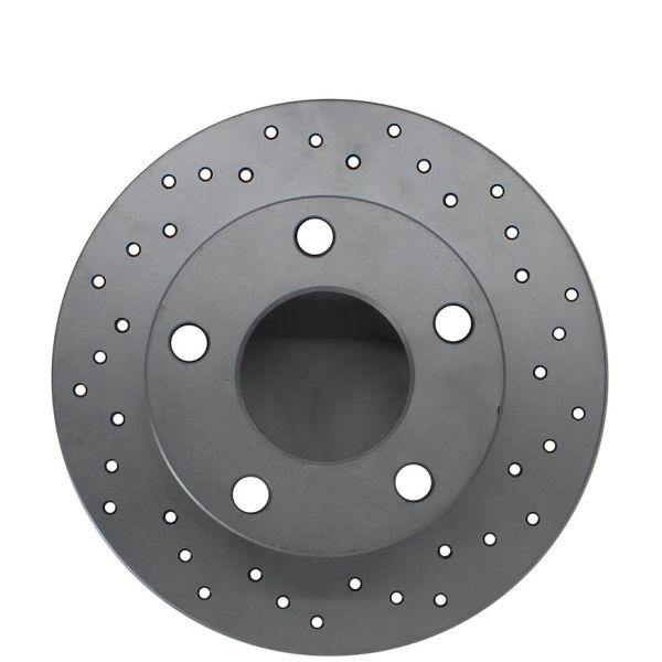 Geperforeerde remschijven achterzijde Sport kwaliteit MERCEDES-BENZ C-KLASSE (W204) C 180 Kompressor