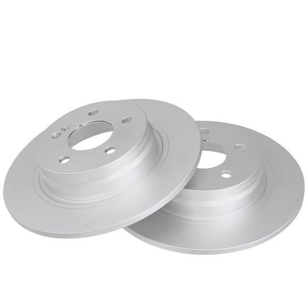 Remschijven achterzijde originele kwaliteit MERCEDES-BENZ E-KLASSE Coupé (C207) E 250 CDI / BlueTEC / d
