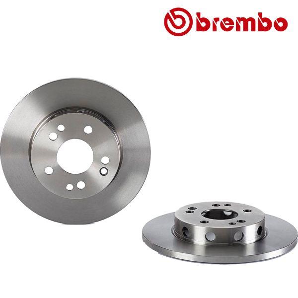 Remschijven voorzijde Brembo premium MERCEDES-BENZ E-KLASSE (W124) E 250 D