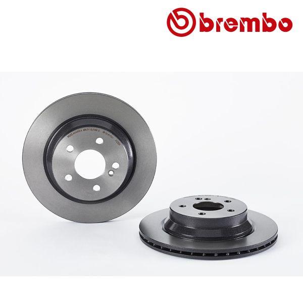 Remschijven achterzijde Brembo premium MERCEDES-BENZ E-KLASSE (W211) E 200 CDI