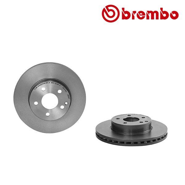 Remschijven voorzijde Brembo premium MERCEDES-BENZ E-KLASSE (W212) E 200 CDI / BlueTEC