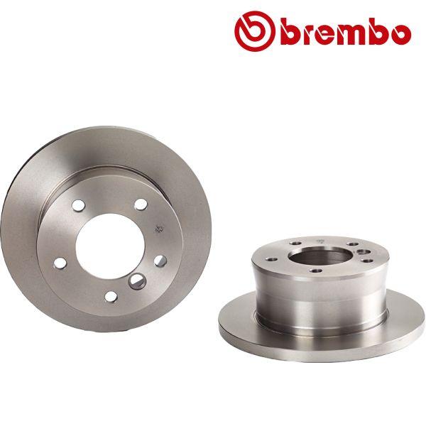 Remschijven achterzijde Brembo premium MERCEDES-BENZ G-KLASSE (W461) G 270 CDI
