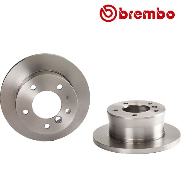 Remschijven achterzijde Brembo premium MERCEDES-BENZ G-KLASSE (W463) G 350 d