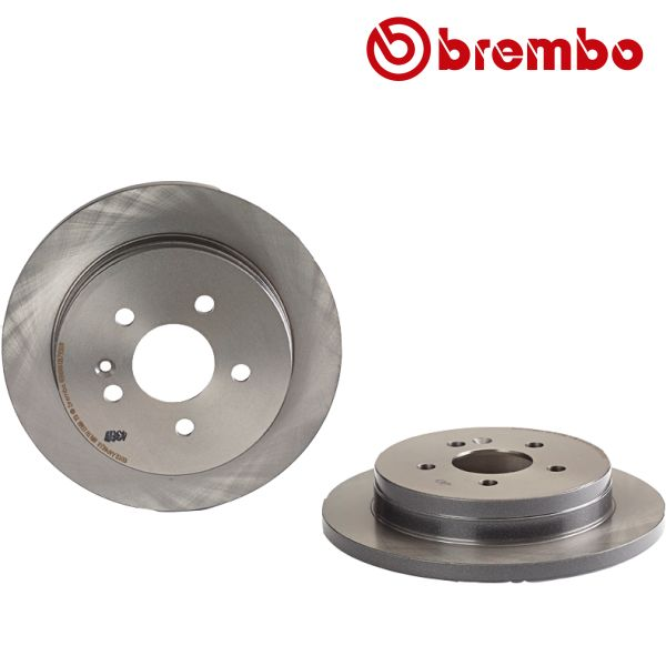 Remschijven achterzijde Brembo premium MERCEDES-BENZ M-KLASSE (W163) ML 430