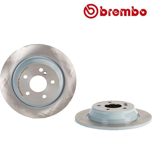 Remschijven achterzijde Brembo premium MERCEDES-BENZ S-KLASSE (W220) S 280