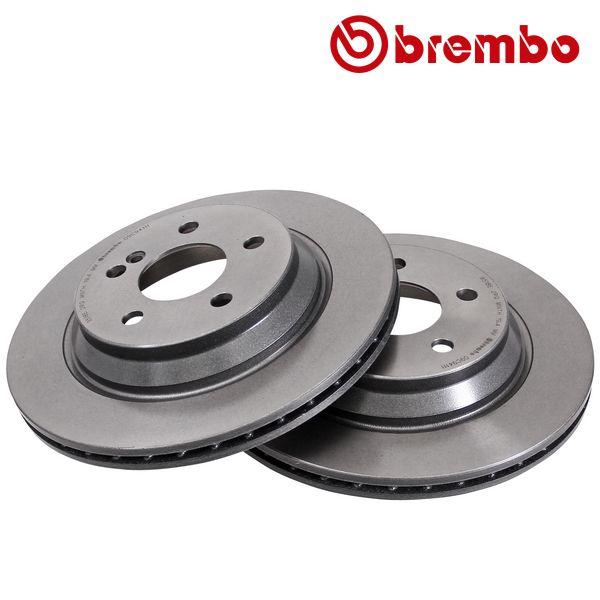 Remschijven achterzijde Brembo premium MERCEDES-BENZ S-KLASSE (W221) S 300