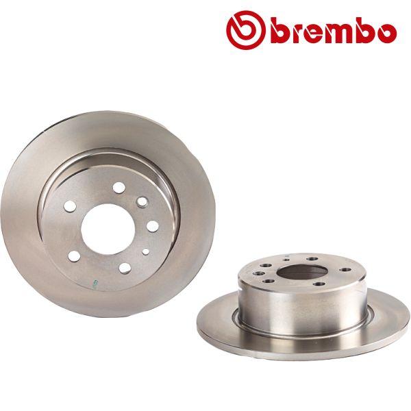 Remschijven achterzijde Brembo premium MERCEDES-BENZ SL Coupé (C107) 350 SLC