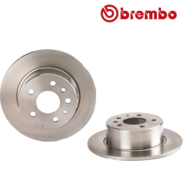 Remschijven achterzijde Brembo premium MERCEDES-BENZ SL Coupé (C107) 380 SLC