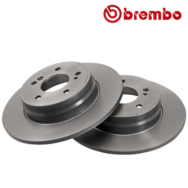 Remschijven achterzijde Brembo premium MERCEDES-BENZ SL (R129) 280
