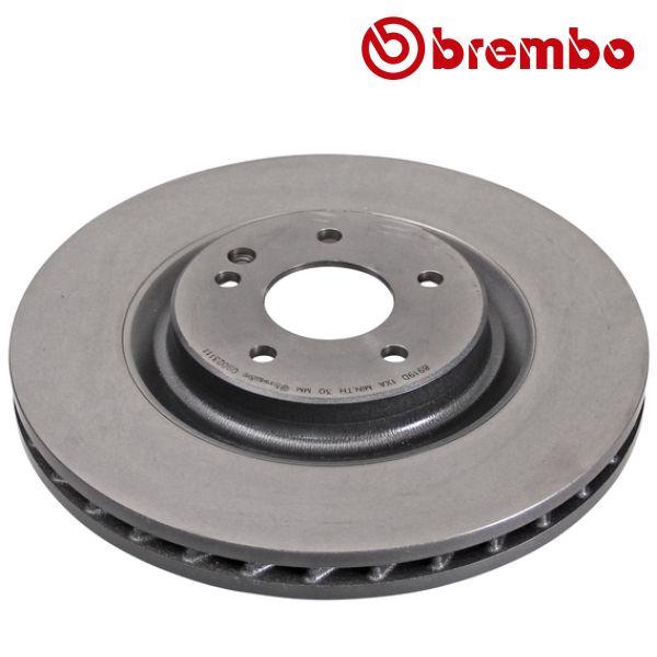 Remschijven voorzijde Brembo premium MERCEDES-BENZ SL (R129) 280