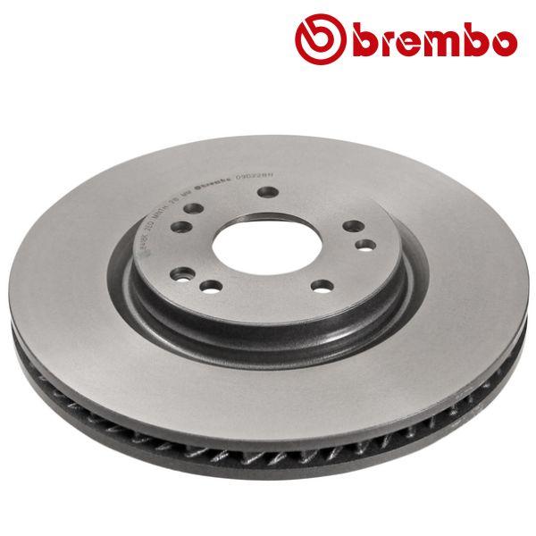 Remschijven voorzijde, links Brembo premium MERCEDES-BENZ SL (R129) 320